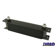 Olajhűtő TurboWorks 9-soros 260x70x50 AN10 Fekete